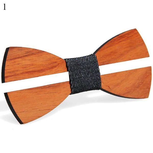 Pánský designový dřevěný motýlek Franklin