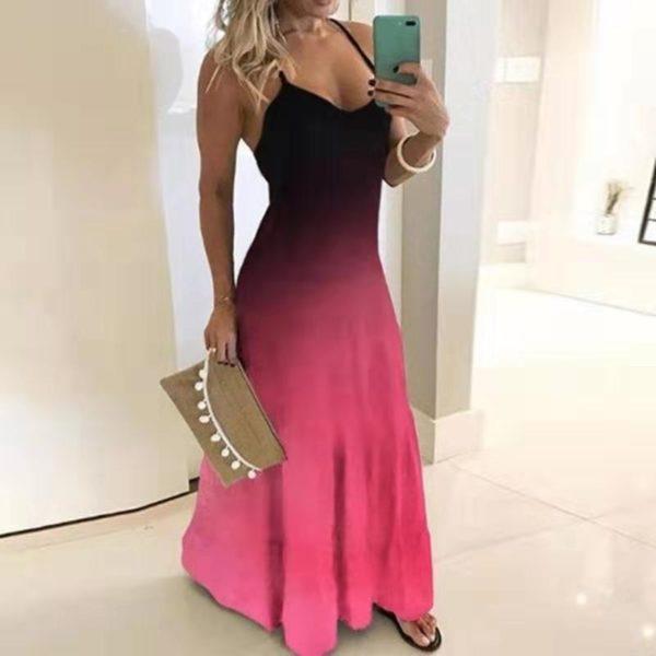 Dámské dlouhé šaty Dagmar