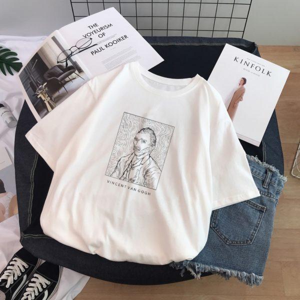 Dámské stylové tričko Black and White