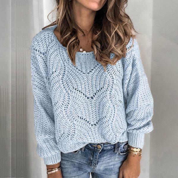 Dámský moderní svetr Linda