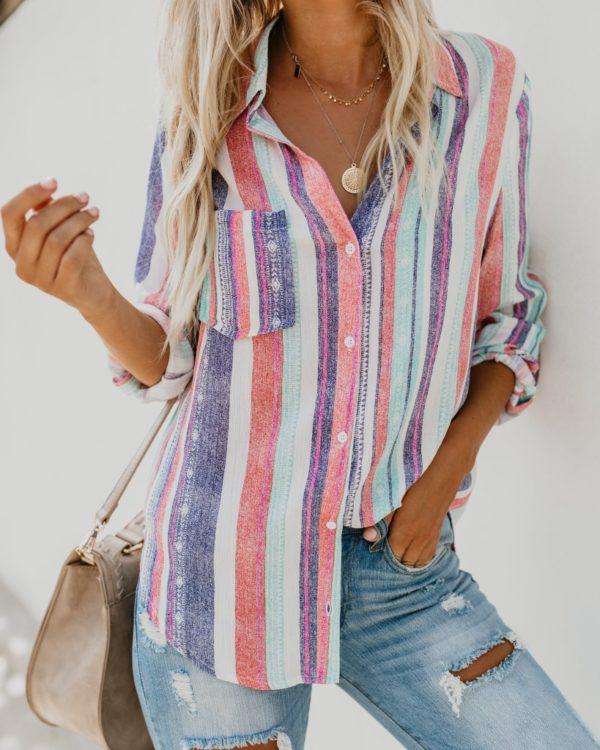 Dámská barevná košile Emily