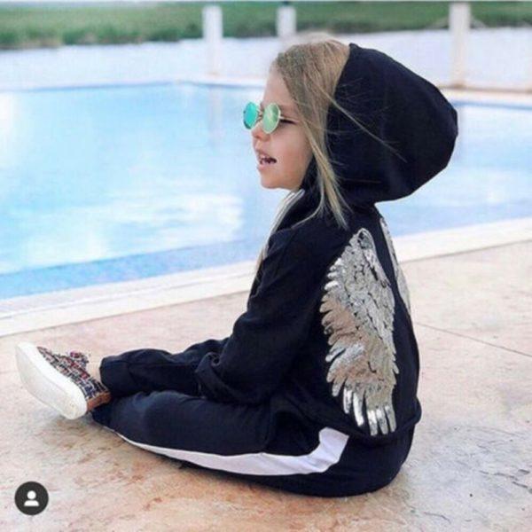 Dívčí tepláková souprava Angel Wings