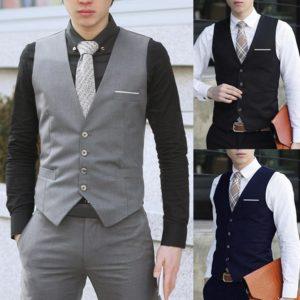 Pánská luxusní společenská vesta Hector