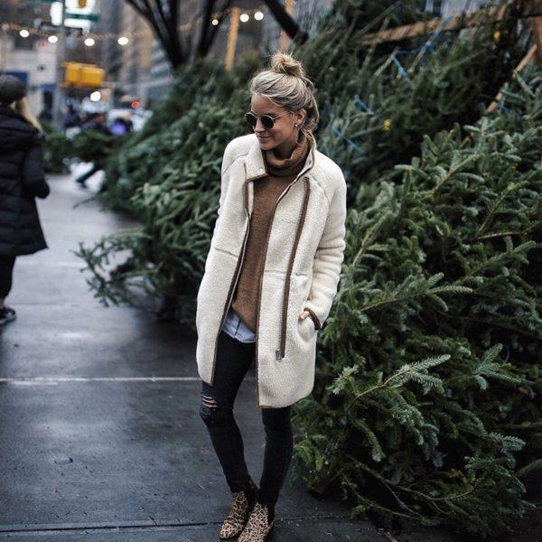 Dámský mikinový podzimní kabát Lucie