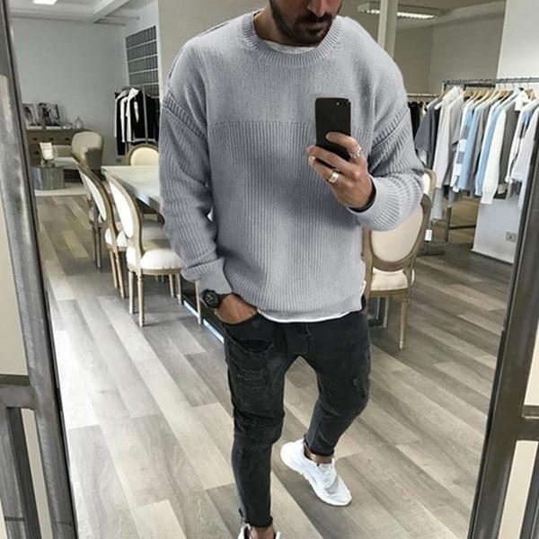 Pánský ležérní pletený svetr Samuel
