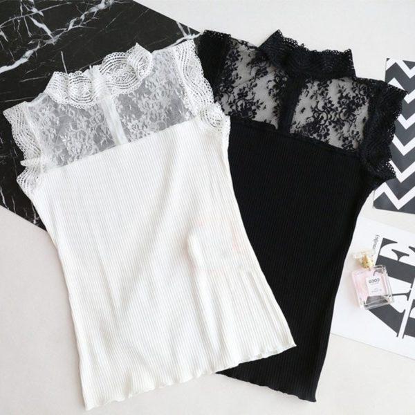 Dámský elegantní krajkový top Linda - kolekce 2020