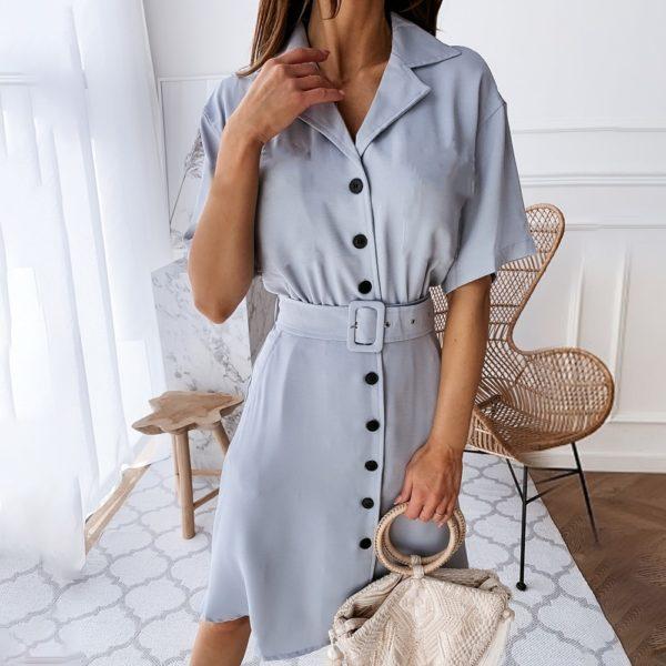 Dámské trendy propínací šaty Rosalind