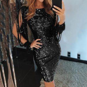 Dámské luxusní společenské šaty Mauria