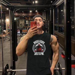Pánské stylové fitness triko Damion