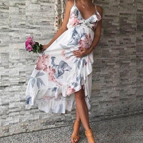 Dámské těhotenské letní šaty Karina