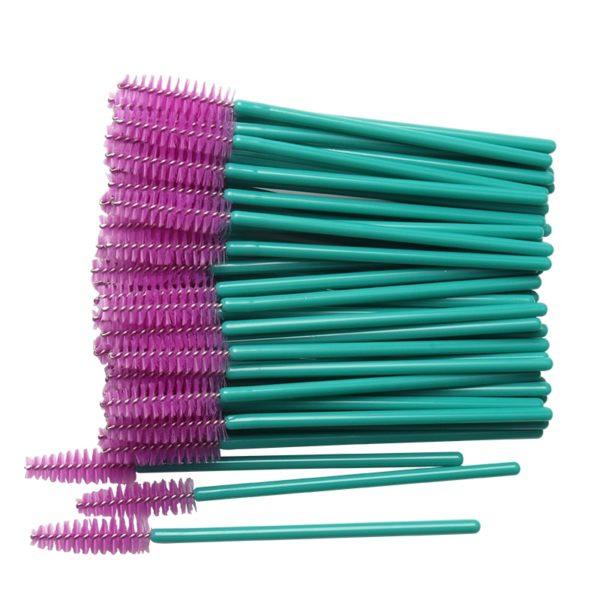 Kosmetické štětce na řasy - 50 Ks
