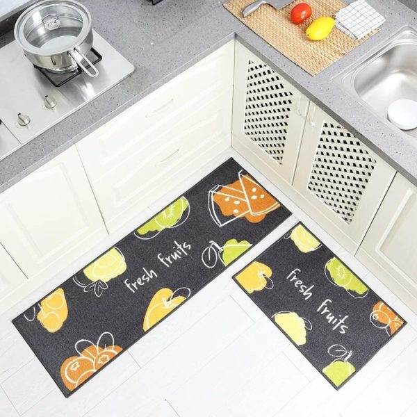 Kuchyňské protiskluzové koberce Padilla - sada 2 ks