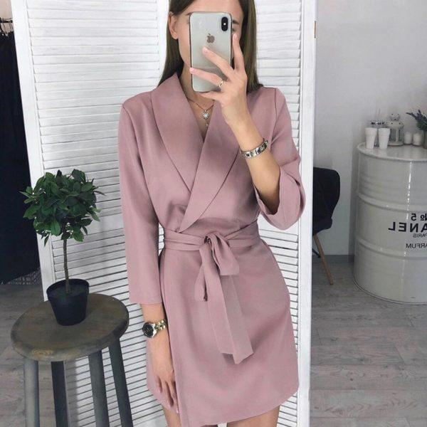 Dámské elegantní zavinovací šaty Carmen - kolekce 2020