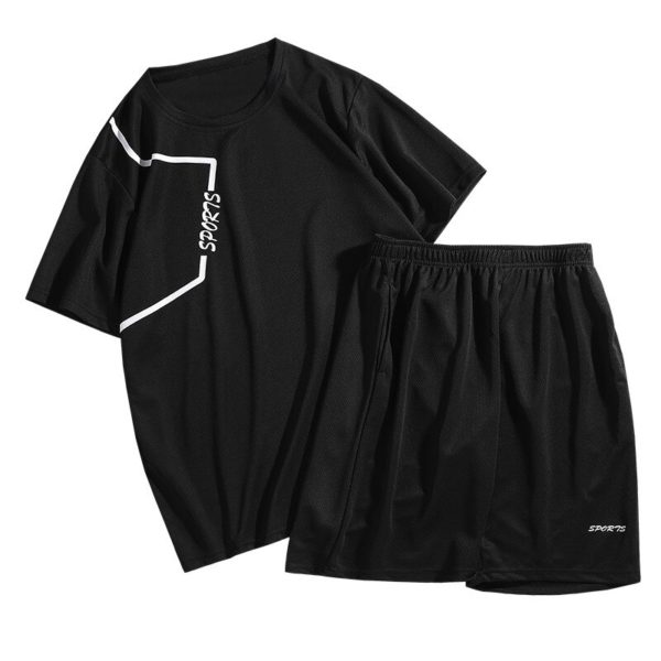 Pánská letní stylová souprava Joyce - kraťasy, triko