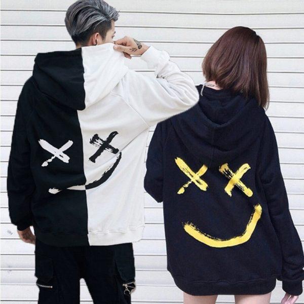 Unisex stylová mikina s kapucí Smile
