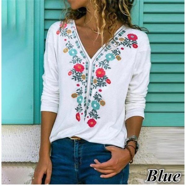 Dámská módní tunika Jennifer ve vintage stylu