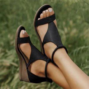 Dámské elegantní sandály na platformě Jenna