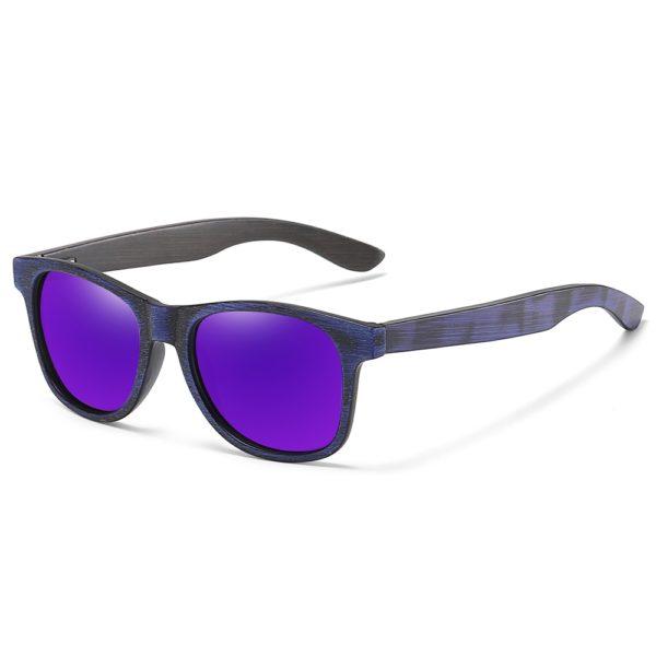 Unisex luxusní sluneční brýle Wood