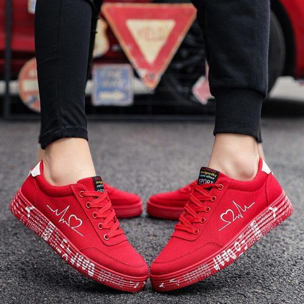 Dámské stylové sneakers Heartbeat