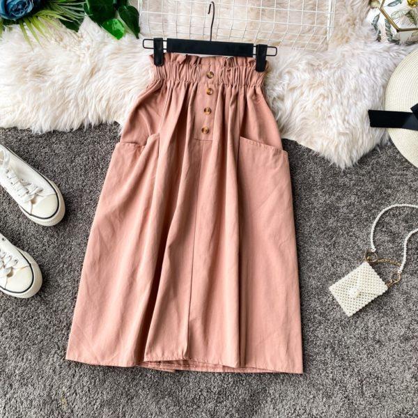 Dámská stylová sukně s kapsami Amour