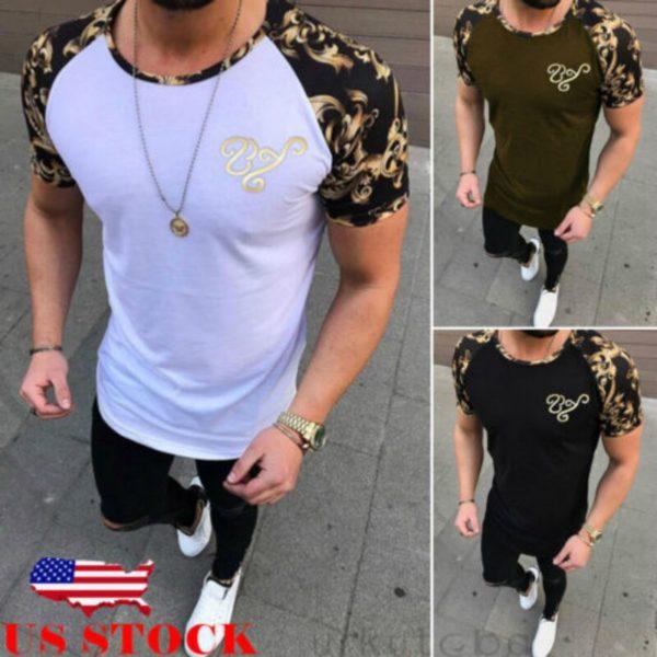 Pánské módní triko Bradley - kolekce 2020