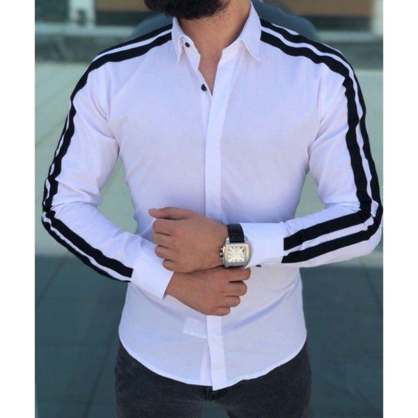 Pánská neformální slim košile Gregory