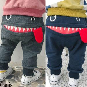 Chlapecké roztomilé teplákové kalhoty Smile
