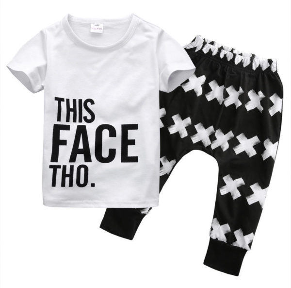 Dětská trendy souprava Patton - tepláky, triko