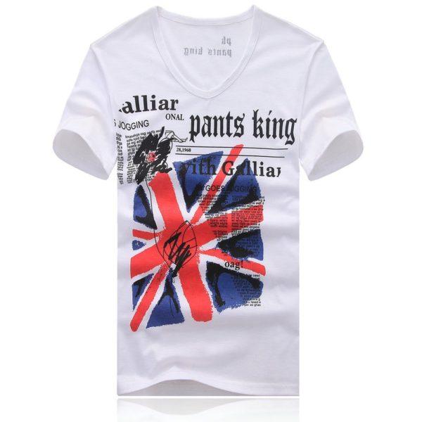 Pánské módní triko s potiskem Louise - kolekce 2020