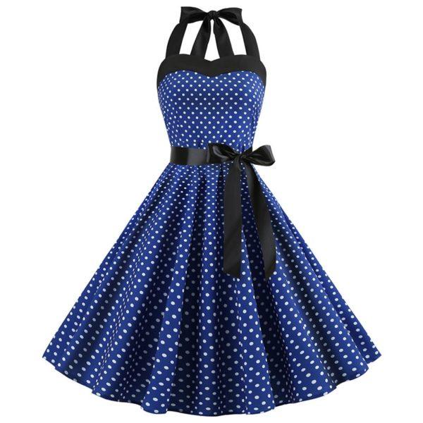 Dámské moderní retro šaty Evie