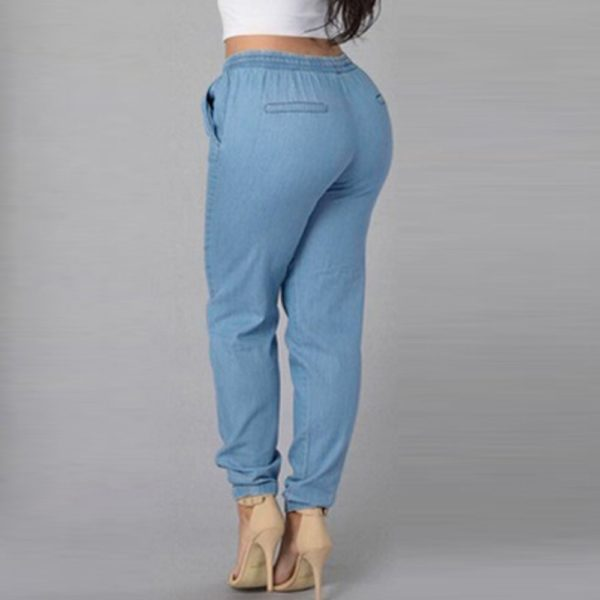Dámské luxusní elastic kalhoty Gizell
