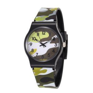 Dětské hodinky s maskáčovým páskem Jesse