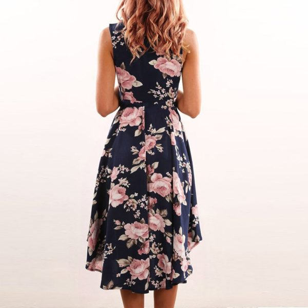 Dámské květované šaty Mylee