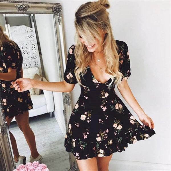 Dámské květinové šaty Briley