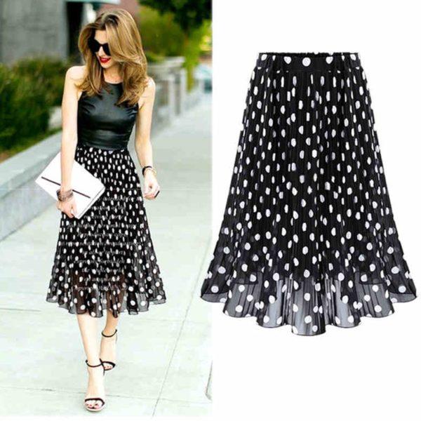 Dámská luxusní šifonová sukně Kristen