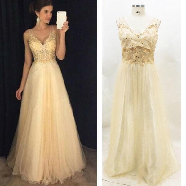 Dámské luxusní plesové šaty Nina