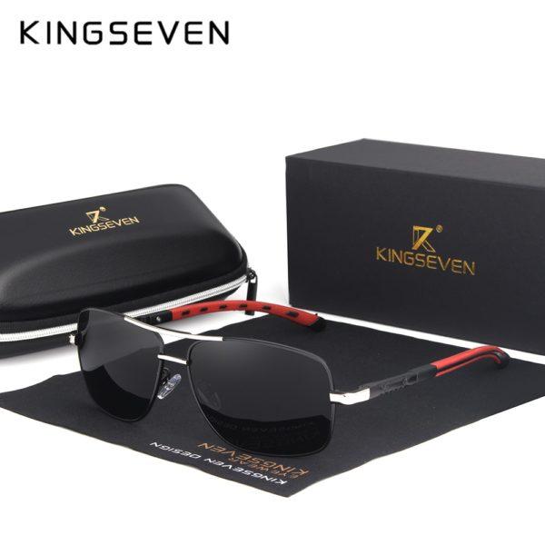 Pánské luxusní sluneční brýle Kingseven