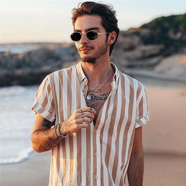 Pánská luxusní letní košile Victor