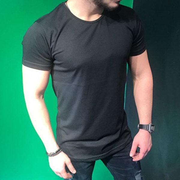 Pánské ležérní triko s prodlouženými zády Timmy