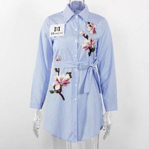 Dámské košilové mini šaty Jesica