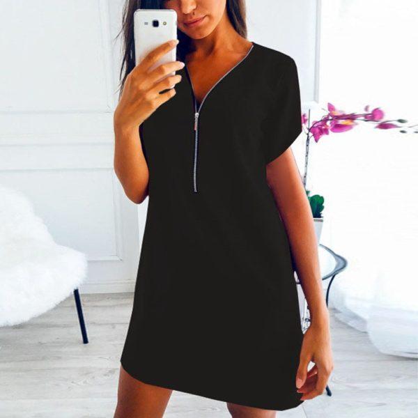 Dámské stylové košilové šaty Carmen