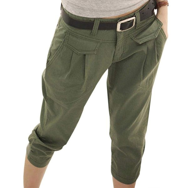 Dámské tříčtvrteční kalhoty Lara
