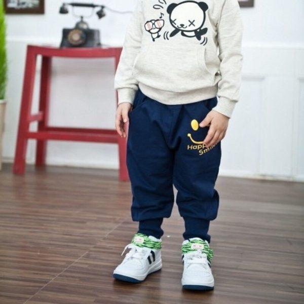 Dětské volnočasové harémové kalhoty Happy