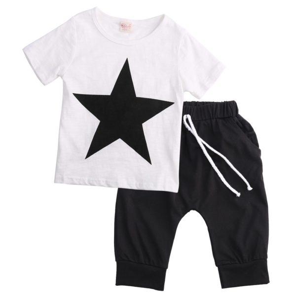 Chlapecká stylová letní souprava Star