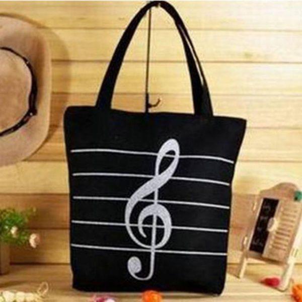 Letní taška přes rameno I love music