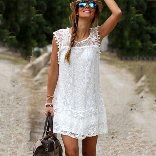 Dámské kratké letní šaty Mia