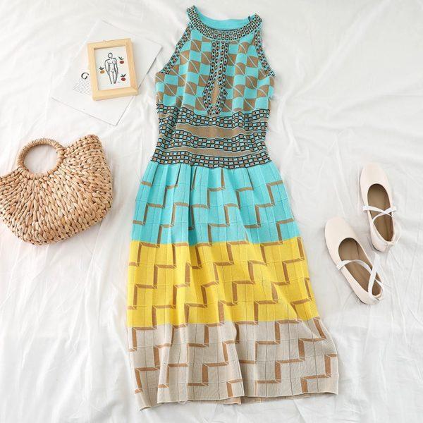Dámské letní vintage šaty Erica - kolekce 2020