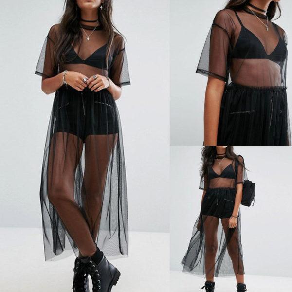 Dámské tylové průsvitné šaty Cassidy - kolekce 2020