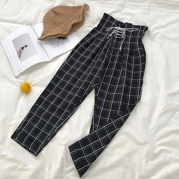 Dámské trendy široké letní kalhoty Griffith - kolekce 2020