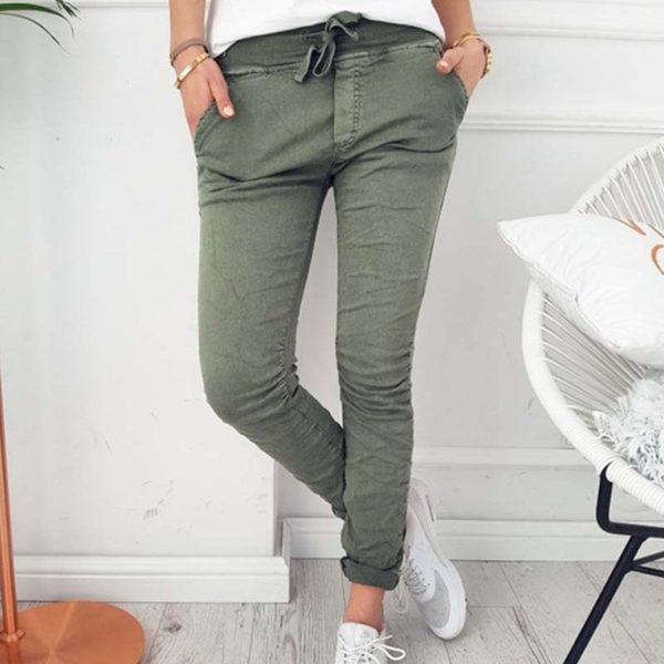 Dámské nadčasové skinny kalhoty Butchy